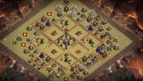 layout for th10 13 th7 to th11 farming trophy war base layouts for