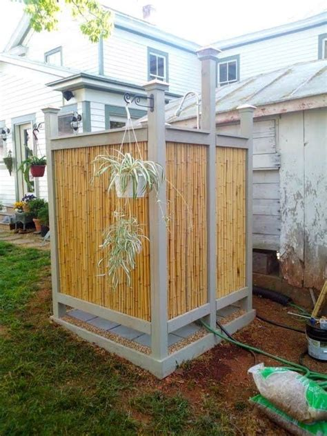 outdoor shower privacy 22 best images about outdoor showers on