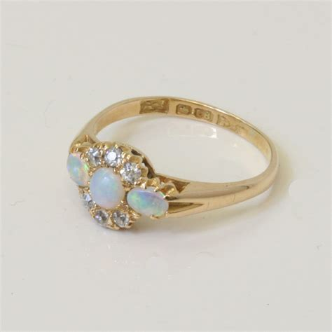 buy antique opal and ring sold items sold rings