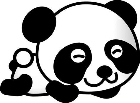 gambar vektor gratis panda kartun beruang hewan lucu gambar gratis di pixabay 309548