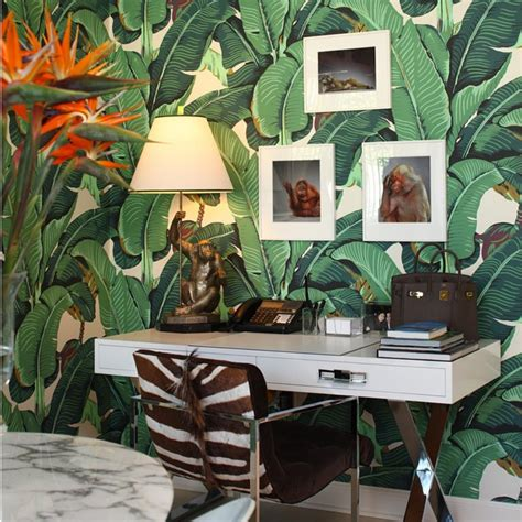 banana leaf wallpaper beverly hills hotel 10 banana leaf wallpaper instagrams to celebrate the