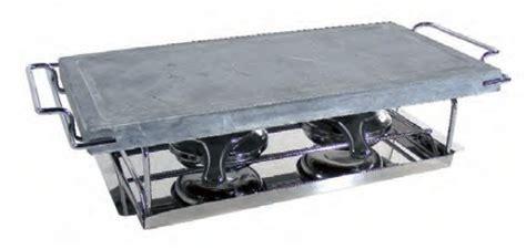 pietra ollare da tavolo bistecchiera pietra ollare lavica con fornellino cm 19x37