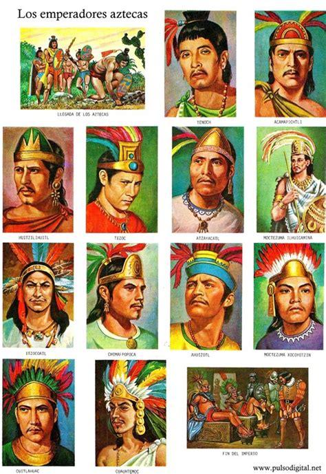 imagenes de emperadores aztecas los emperadores aztecas 1 illustration monograf 237 as