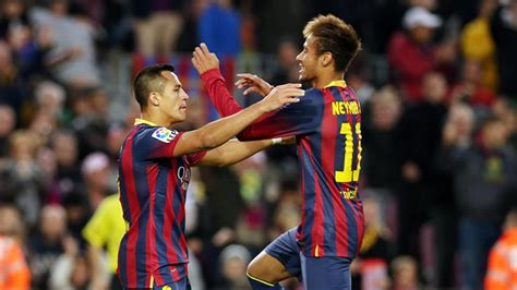 alexis sanchez vs neymar fc barcelona elche set for january 5th at 16 00 fc barcelona
