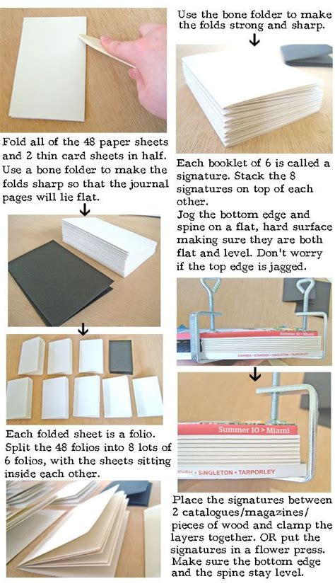 make a book of pictures 154 best images about book binding tutorials on
