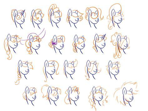hair styles in two ponies mlp hair styles by littlegenius13 on deviantart