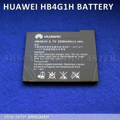 Baterai Huawei Hb4g1h For Huawei S7 Slim 3250mah Original huawei hb4g1h battery for ideos s7 slim android tablet