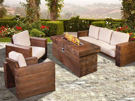Outdoor Patio Furniture With Pit Patio Furniture With Fire Pit