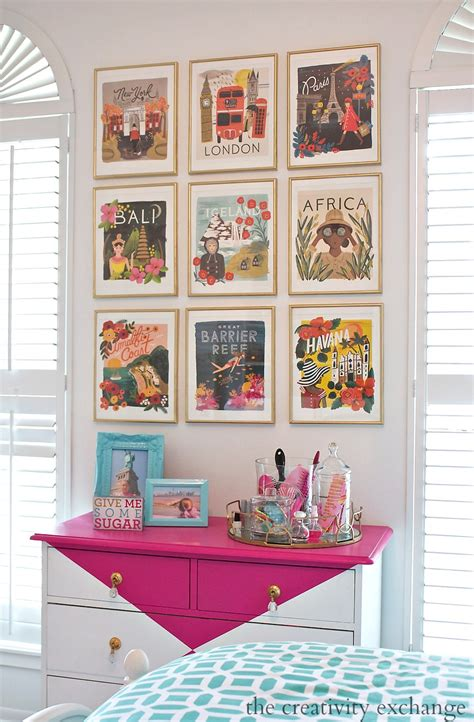 art gallery wall 2016 rifle paper co frameable calendars and gallery wall