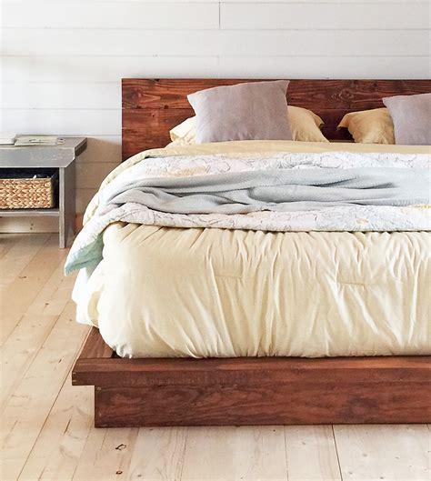 bed frame diy 18 gorgeous diy bed frames the budget decorator