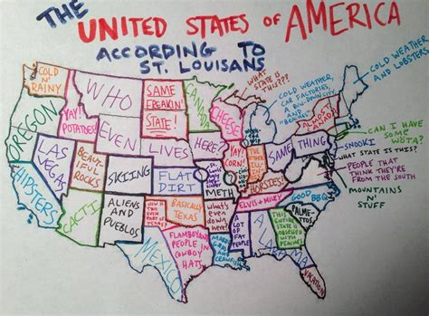 st louis map usa aliens and miley map shows the united states