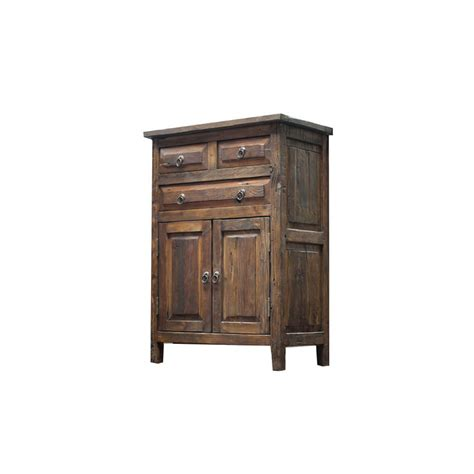 buy 3 drawer reclaimed wood vanity with unique design