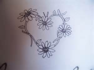 daisychain heart tattoo design by misfitskid13 on deviantart