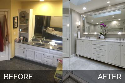 the klar family before and after master bathroom remodel bobby lisa s master bathroom before after pictures