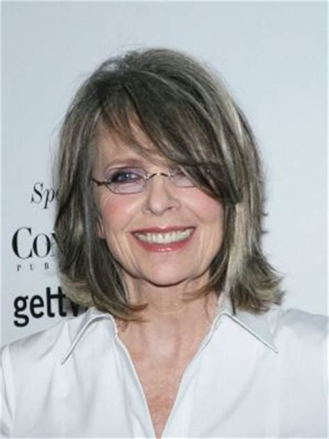 Diane Keaton Honored Hollyscoop by A Lifetime Achievement Award For Woody Allen Grey