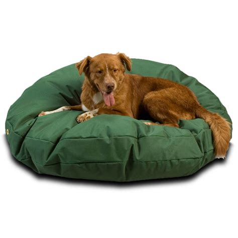 round dog beds outdoor waterproof round dog bed snoozer pet products