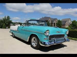 1955 Chevrolet Convertible For Sale 1955 Chevy Bel Air Convertible Classic Car For Sale