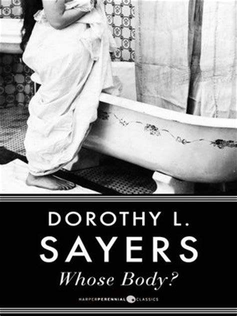 Whose Body? by Dorothy L. Sayers · OverDrive: eBooks
