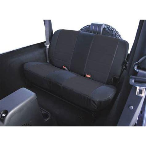 2003 jeep wrangler tj seat covers jeep tj wrangler fabric rear seat covers 2003 2006