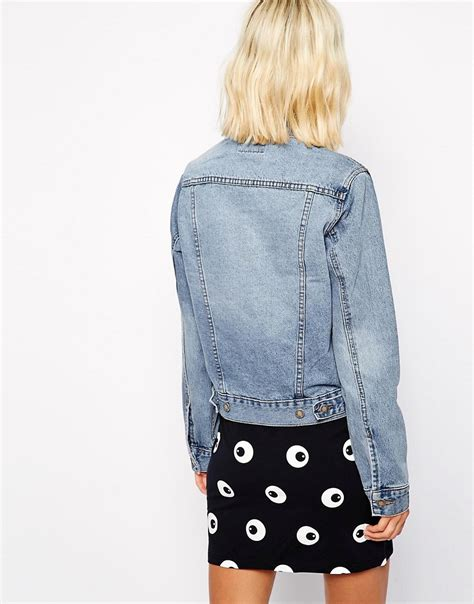 Cheap Monday By Ags Denim cheap monday cheap monday denim jacket at asos