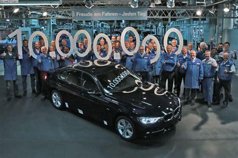 Bmw 3er Werk by Jubil 228 Um Im Werk M 252 Nchen 10 Millionen Bmw 3er Limousinen