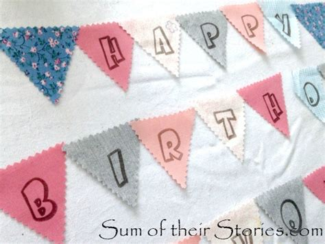 mini bunting for card mini bunting card sum of their stories