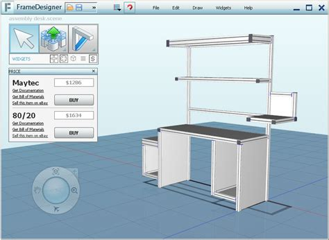 frame design software download free and very easy to use aluminium frame design software