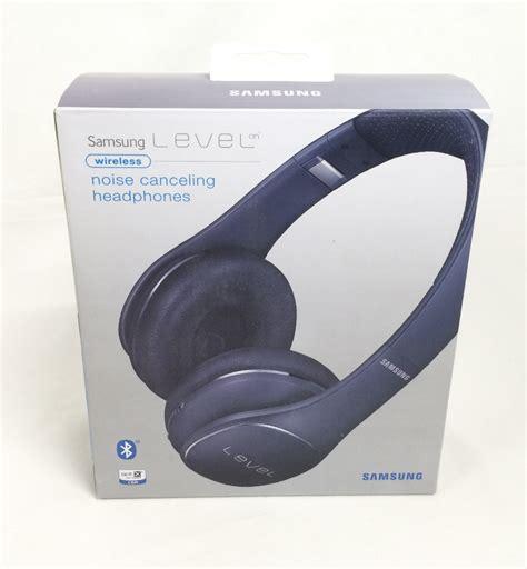 Headphone Wireless Samsung samsung level on wireless noise canceling headphones blue