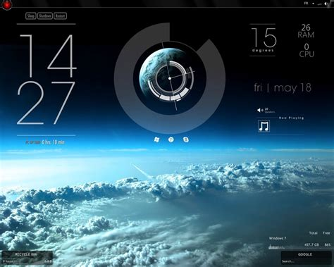 themes weather clock simple class for rainmeter by adriendel on deviantart