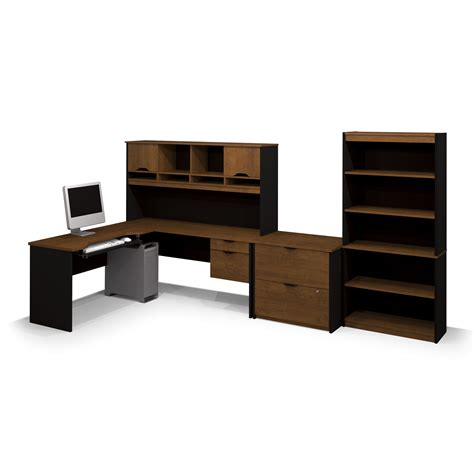 L Accessories Lowes by Bestar 92852 63 Innova L Shaped Workstation With