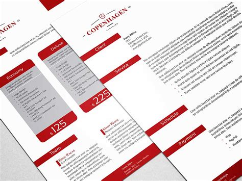 indesign proposal template stockindesign