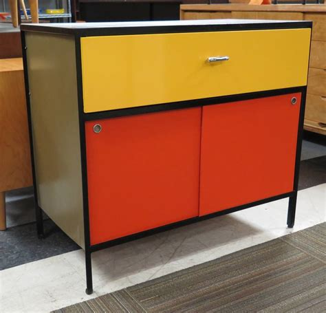 steel frame kitchen cabinets vibrant 1950s george nelson steel frame cabinet at 1stdibs
