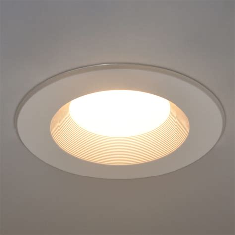 Recessed Led Lights 5 In And 6 In Dimmable Led Retrofit Downlight Recessed
