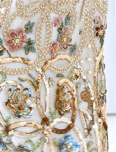 embroidery couture haute couture embroidery fashion couture