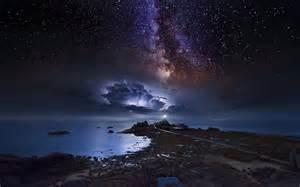 sternenhimmel le natur landschaft k 252 ste langzeitbelichtung