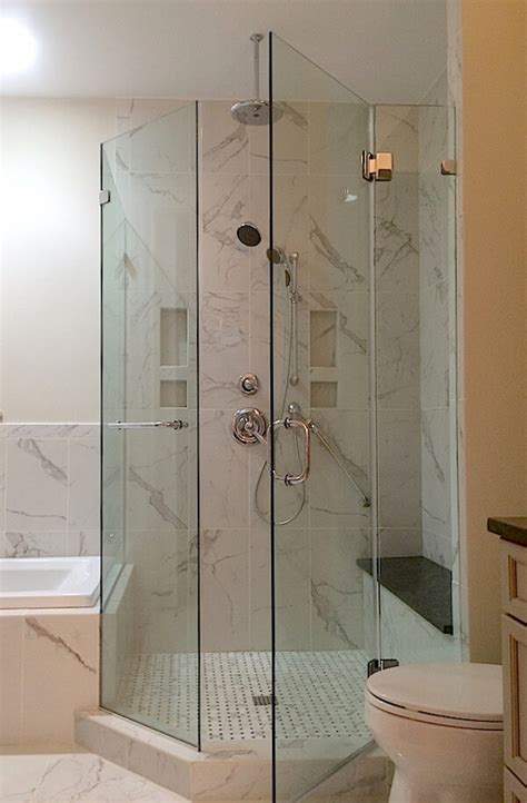 Frameless Neo Angle Shower Enclosures Angle Shower Doors