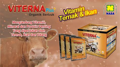 Tangguh Probiotik Lele viterna plus organik serbuk vitamin ternak ikan