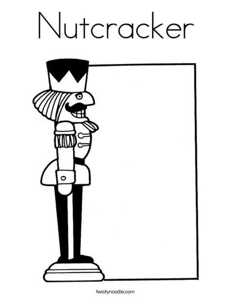 nutcracker template nutcracker coloring page twisty noodle