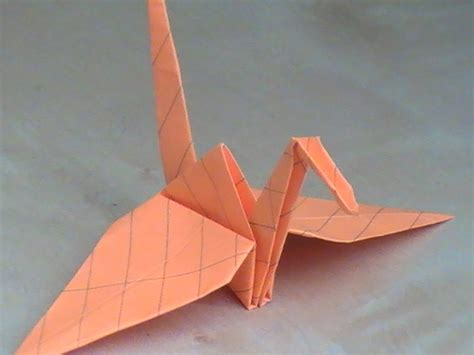 How To Make A Crane Origami - how to make an origami crane all