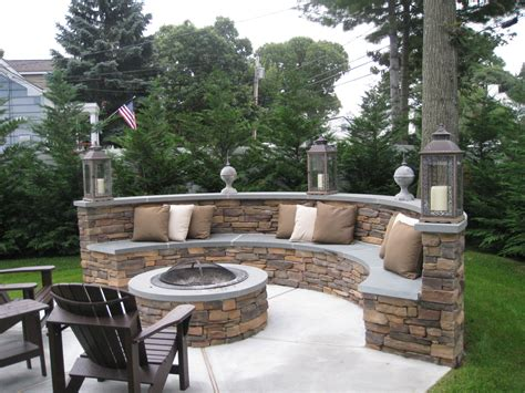benches for fire pit design your fall project ceraso masonry