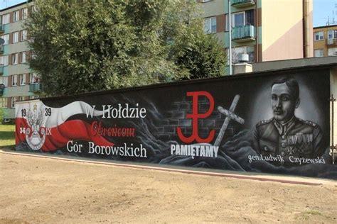woli krzysztoporskiej powstal patriotyczny mural gmina