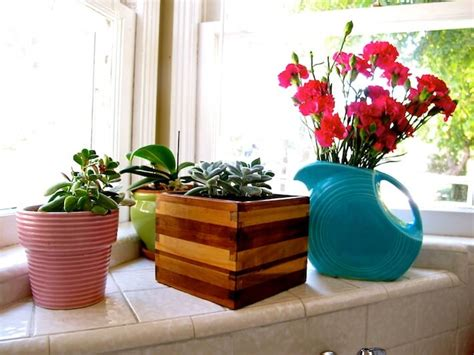 how to make a kitchen planter box for herbs diy ikea wooden planter box gets simple mod makeover homejelly