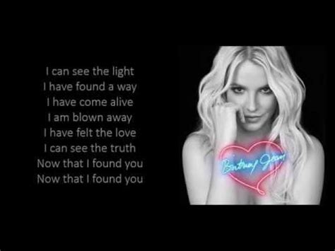 found 4 you now that i found you lyrics