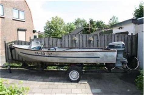 aluminium bootje met motor aluminium speedboot met evinrude 40 pk kopen speedboten