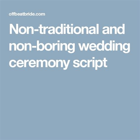 37 best images about wedding guides on the nerds wedding and wedding script