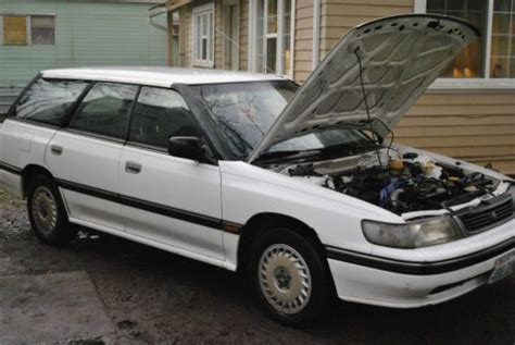 auto air conditioning repair 1992 subaru legacy electronic toll collection purchase used 1992 subaru legacy l wagon 4 door 2 2l in carson washington united states for