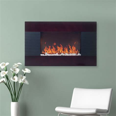 sleek electric fireplaces set the mood touch of modern