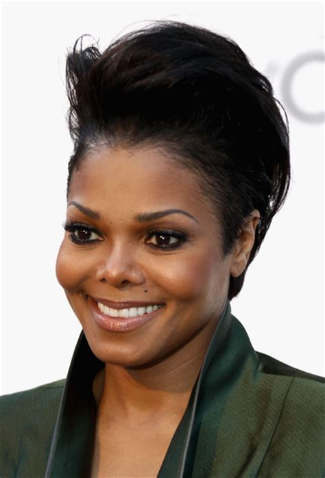 cut with janet hair more pics of janet jackson short straight cut 3 of 23