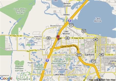 sanford florida map map of springhill suites by marriott orlando sanford
