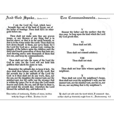 book   bible   ten commandments